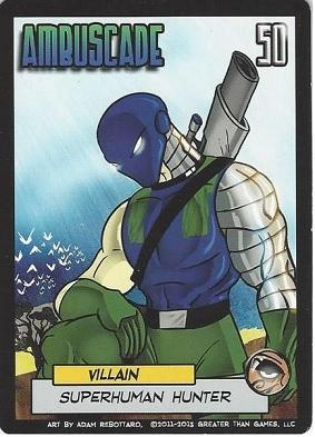 Sentinels Of The Multiverse Extension : Ambuscade (Villain)