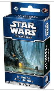 Star Wars : The card Game Extension - It Binds All Things Force Pack