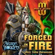 Mage Wars Arena Extension : Forged In Fire Spell Tome
