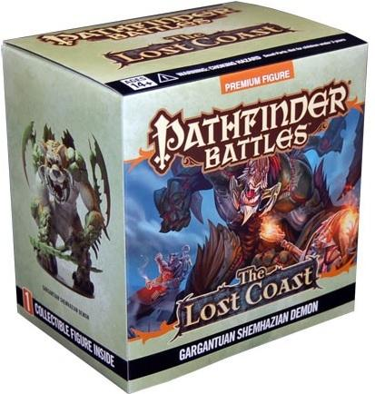 Pathfinder Battles : The Lost Coast - Gargantuan Shemhazian