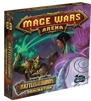 Mage Wars Arena Extension : Battlegrounds Domination