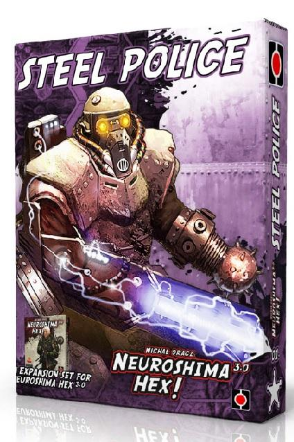 Neuroshima Hex 3.0 Extension : Steel Police