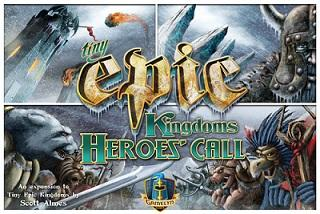 Tiny Epic Kingdoms Extension : Heroes Call