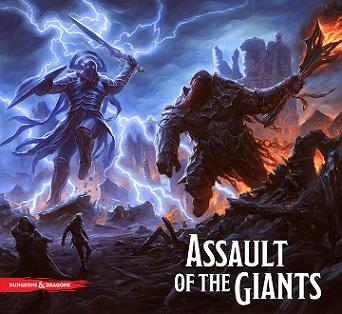 Dungeons & Dragons Board game : Assault Of The Giants Standard Edition