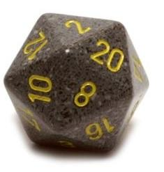 Speckled D20 34mm Urban Camo Single