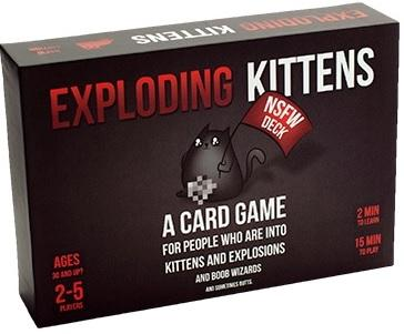 Exploding Kittens Extension : Nsfw Edition