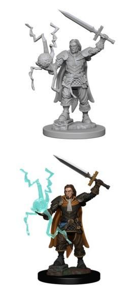 Pathfinder : Deep Cuts Unpainted Miniatures - Male Human Cleric