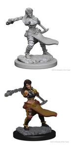 Dungeons & Dragons: Nolzur's Marvelous Unpainted Miniatures - Female Human Monk