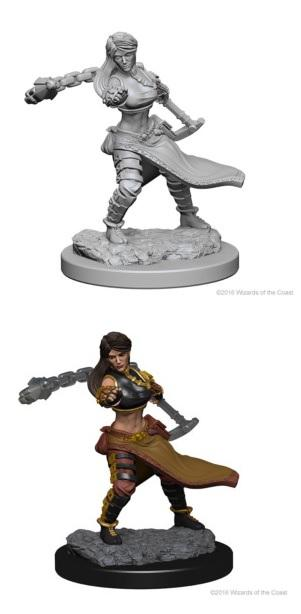 Dungeons & Dragons : Nolzur's Marvelous Unpainted Miniatures - Female Human Monk