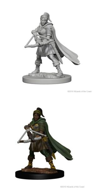 Dungeons & Dragons : Nolzur's Marvelous Unpainted Miniatures - Female Human Ranger