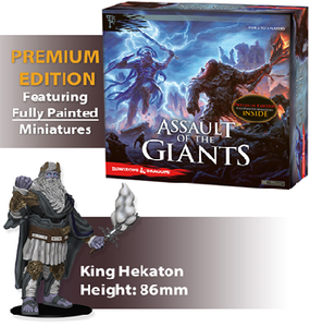 Dungeons & Dragons Board game : Assault Of The Giants Premium Edition