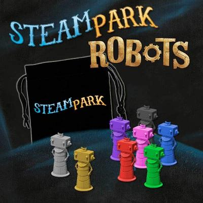 Steam Park Extentson : Robots (En)