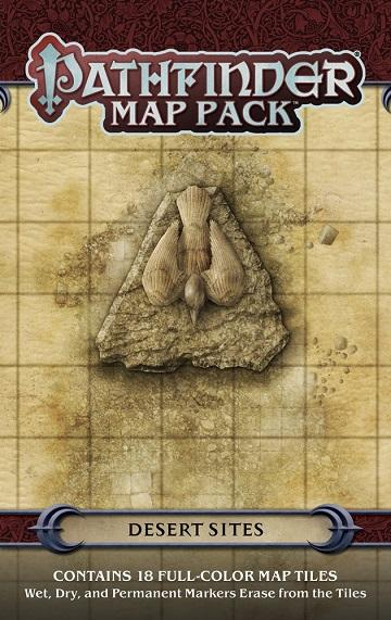 Pathfinder Map Pack : Desert Sites