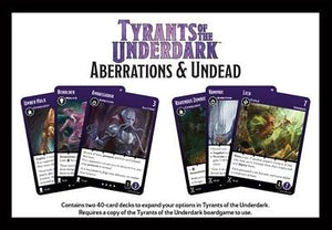 Dungeons & Dragons Board game : Tyrants Of Underdark Extension - Aberrations & Undead