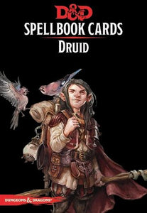 Dungeons & Dragons: Spellbook Cards Druid 2nd Edition