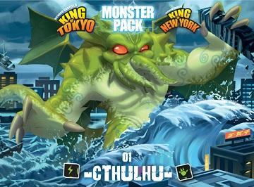 King Of Tokyo / King Of New-York : Cthulhu Monster Pack