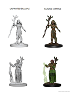 Dungeons & Dragons : Nolzur's Marvelous Unpainted Miniatures - Female Human Druid