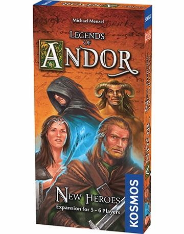Legends Of Andor Extension : New Heroes