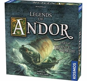 Legends Of Andor Extension : Part II -  Journey To The North