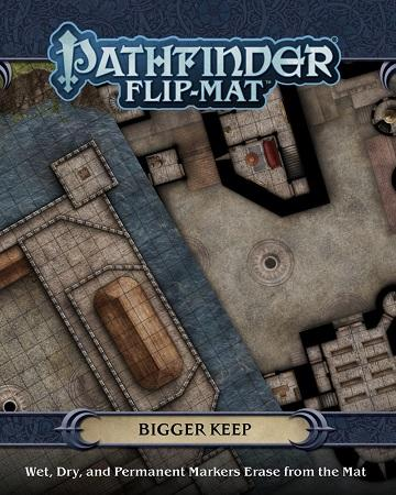 Pathfinder Flip-Mat : Bigger Keep (En)