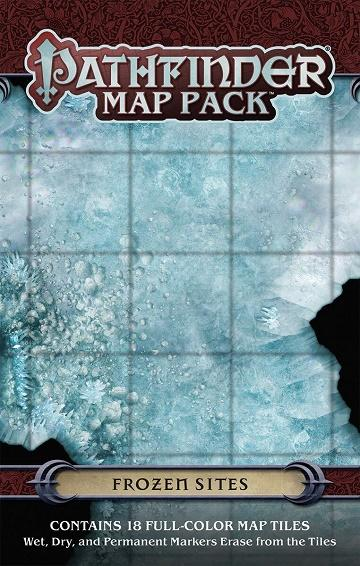 Pathfinder Map Pack : Frozen Sites (En)