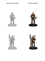 Pathfinder : Deep Cuts Unpainted Miniatures - Town Guards