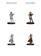 Pathfinder : Deep Cuts Unpainted Miniatures - Bartender & Dancing Girl