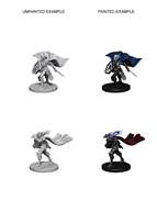 Pathfinder: Deep Cuts Unpainted Miniatures - Elf Female Fighter