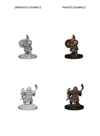 Pathfinder : Deep Cuts Unpainted Miniatures - Dwarf Male Barbarian