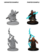 Pathfinder: Deep Cuts Unpainted Miniatures - Dwarf Male Sorcerer