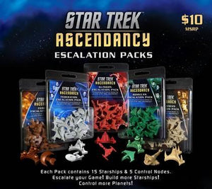 Star Trek Ascendancy Extension : Federation Ship Pack (En)