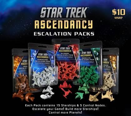 Star Trek Ascendancy Extension : Federation Ship Pack