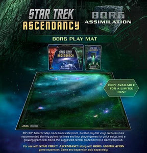 Star Trek Ascendancy : Borg Play Mat
