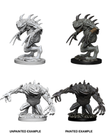 Dungeons & Dragons: Nolzur's Marvelous Unpainted Miniatures - Gray Slaad & Death Slaad