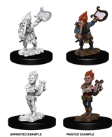 Pathfinder : Deep Cuts Unpainted Miniatures - Gnome Male Bard