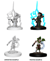 Pathfinder : Deep Cuts Unpainted Miniatures - Gnome Female Druid