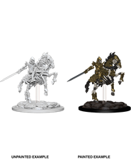 Pathfinder : Deep Cuts Unpainted Miniatures - Knight On Horse