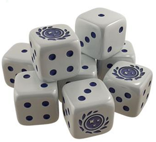 Star Trek Ascendancy Dice - Federation Set