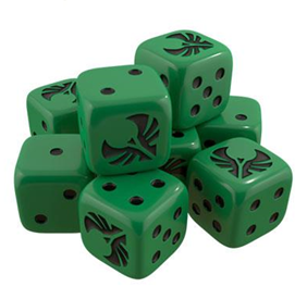 Star Trek Ascendancy Dice - Romulan Set
