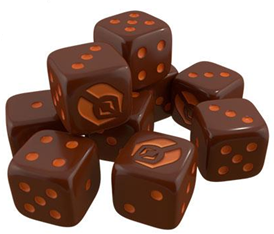 Star Trek Ascendancy Dice - Ferengi Set