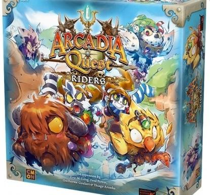 Arcadia Quest Extension : Riders