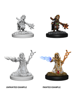 Dungeons & Dragons : Nolzur's Marvelous Unpainted Miniatures - Female Gnome Wizard