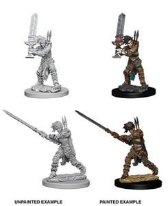 Pathfinder : Deep Cuts Unpainted Miniatures - Female Human Barbarian