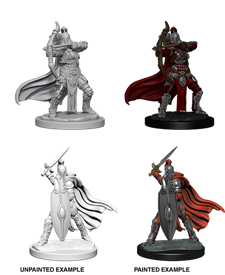 Pathfinder : Deep Cuts Unpainted Miniatures - Female Knights/Gray Maiden