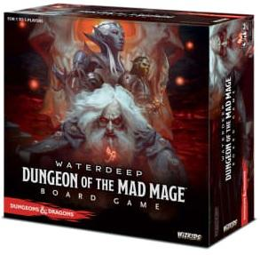 Dungeons & Dragons Board game : Dungeons Of The Mad Mage Standard Edition