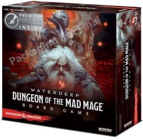 Dungeons & Dragons Board game : Dungeons Of The Mad Mage Premium Edition