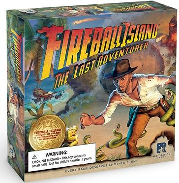 Fireball Island Extension : The Last Adventurer (En)