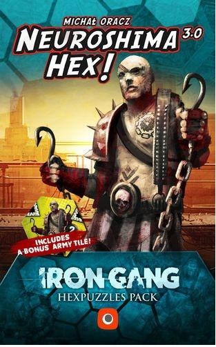 Neuroshima Hex 3.0 Extension : Iron Gang Hex Puzzles Pack