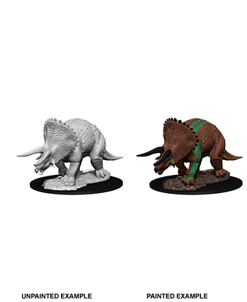 Dungeons & Dragons : Nolzur's Marvelous Unpainted Miniatures - Triceratops