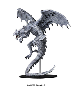 Pathfinder: Deep Cuts Unpainted Miniatures - Gargantuan White Dragon